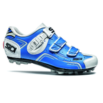 Sidi Buvel Mountainbikeschoenen Blauw/Wit Heren