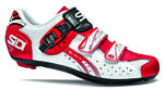 Genius 5 Fit Carbon Raceschoenen Wit/Wit/Rood Heren