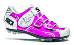 Buvel Mountainbikeschoenen Roze/Wit Dames