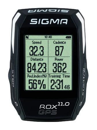 picture ROX GPS 11.0 Set Fietscomputer met Hartslagmeter Zwart