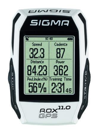 picture ROX GPS 11.0 Set Fietscomputer met Hartslagmeter Wit