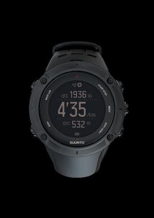 Suunto Ambit3 Peak HR GPS Horloge Zwart