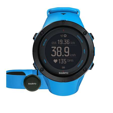 picture Ambit3 Peak HR GPS Horloge Sapphire Blauw