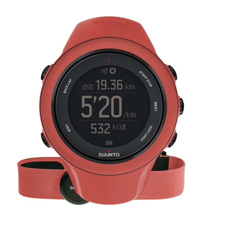picture Ambit3 Sports HR GPS Horloge Rood