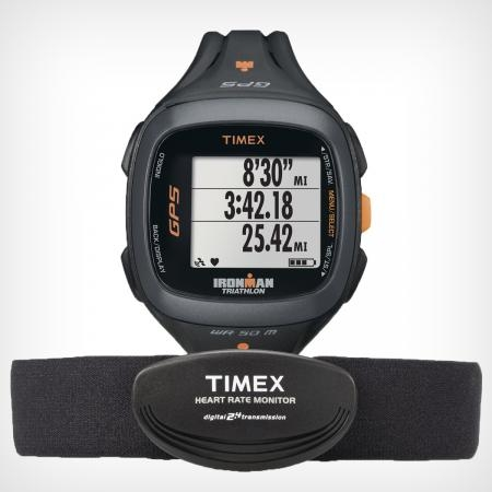 picture Ironman Run Trainer 2.0 GPS & HRM Sporthorloge Zwart