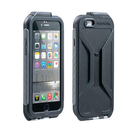 picture Waterproof RideCase Iphone 6 met Houder Zwart/Grijs