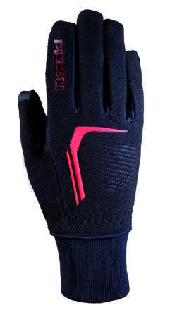 picture Rosario Handschoenen Zwart/Rood