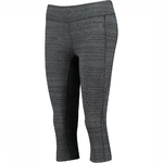 The North Face Pulse Capri Driekwart Hardloopbroek Zwart Dames