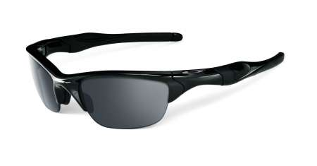 picture Half Jacket 2.0 Polished Black/Black Iridium Polarized Zonnebril