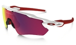 Oakley Radar EV Path Zonnebril Wit Prizm Road Lens