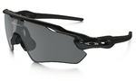 Oakley Radar EV Path Zonnebril Zwart Iridium Polarized Lens