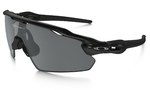 Radar EV Pitch Zonnebril Zwart Iridium Polarized Lens