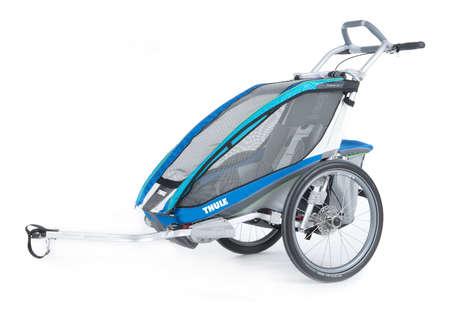 picture Chariot CX 1 Kinderkar Blauw