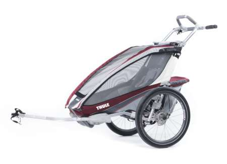 picture Chariot CX 1 Kinderkar Rood