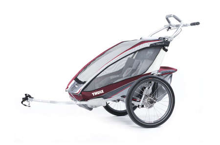 picture Chariot CX 2 Kinderkar Rood