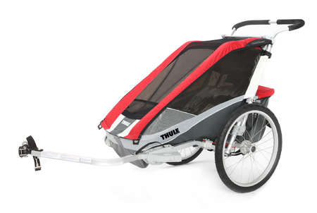 picture Chariot Cougar 2 Kinderkar Rood
