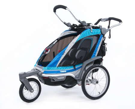 picture Chariot Chinook 1 Kinderkar Blauw