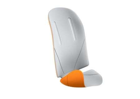 picture RideAlong Padding Lichtgrijs/Oranje