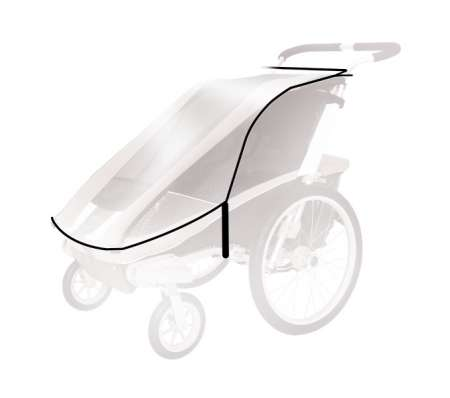 picture Chariot Regenhoes Cheetah 2-serie