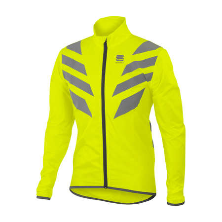 Sportful Reflex Jacket Fluo Geel Heren