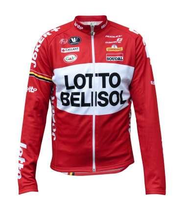 picture Lotto-Belisol Fietsshirt Lange Mouwen 2014