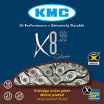 KMC X8-99 8-Speed Ketting Zilver