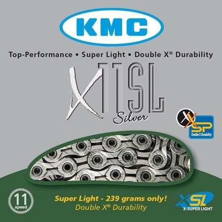 picture X11SL 11-Speed Super Light Ketting Zilver