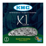 KMC X1 Single Speed Ketting Zilver