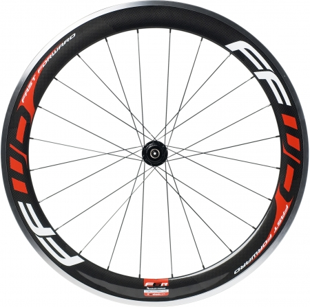 picture F6R (Clincher) Carbon Wielset Met Fast Forward Naaf