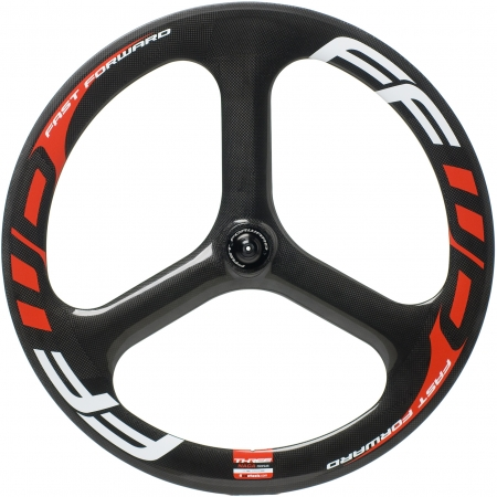 picture Carbon 3 Spoke Wheel Front Tubular