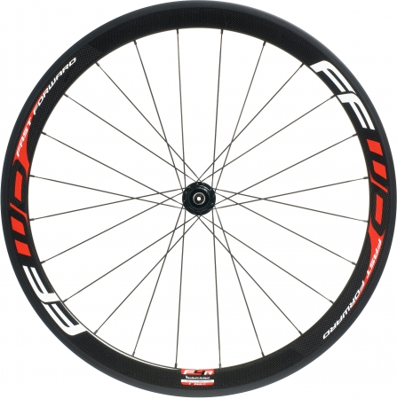 picture F4R Full Carbon Clincher Wielset met Fast Forward Naaf