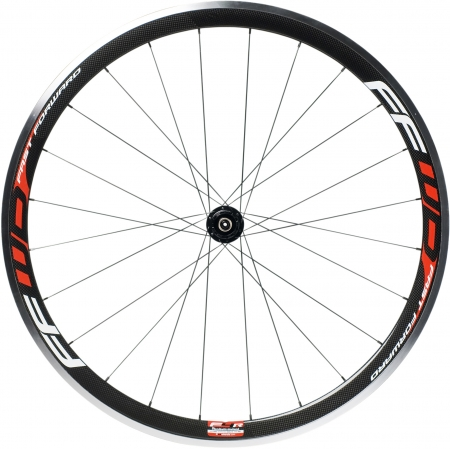 picture F4R-c Carbon Clincher Wielset met Fast Forward Naaf