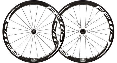 picture F4R Full Carbon Clincher White Logo Design Wielset met DT Swiss 240s N