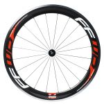 F6R Carbon Alloy Clincher Wielset met Fast Forward Naaf Rood