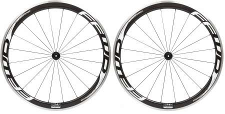 picture F4R Carbon Clincher Wielset Wit met Fast Forward Naaf