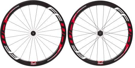 picture F4R Carbon Tubular Wielset met Fast Forward Naaf
