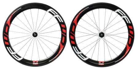 picture F6R Carbon Tubular Wielset met Fast Forward Naaf