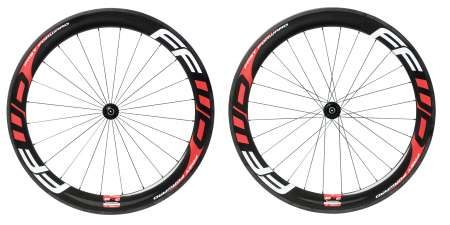 picture F6C Carbon Tubular Wielset met Fast Forward Naaf