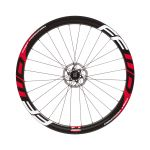 Fast Forward F4D Full Carbon Clincher Disc Brake Wielset Rood DT Swiss 240S CL Naaf