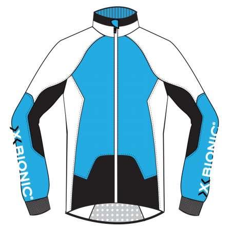 picture Biking AE UPD Spherewind Fietsshirt Lange Mouwen Blauw/Wit/Zwart Dames