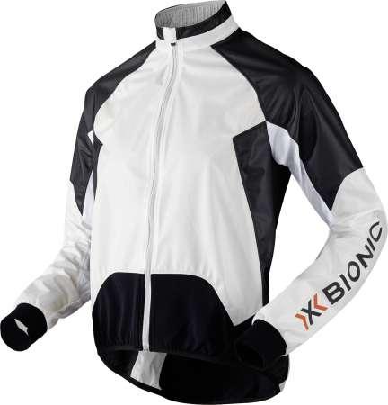picture Biking AE UPD Spherewind Fietsshirt Lange Mouwen Wit/Zwart Heren