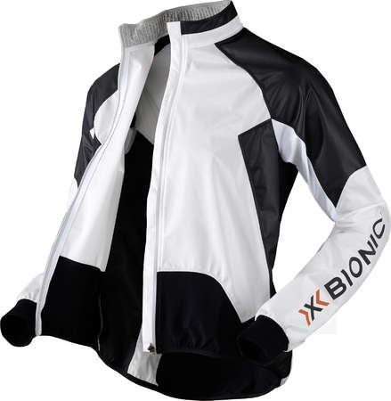 picture Biking UPD Spherewind Fietsjack Lange Mouwen Wit/Zwart Dames