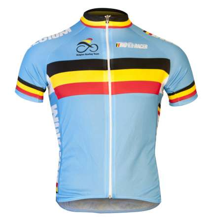 picture Nationale Teamkleding Belgie Fietsshirt