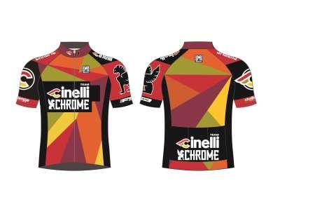 picture Team Cinelli Chrome Fietsshirt Korte Mouwen
