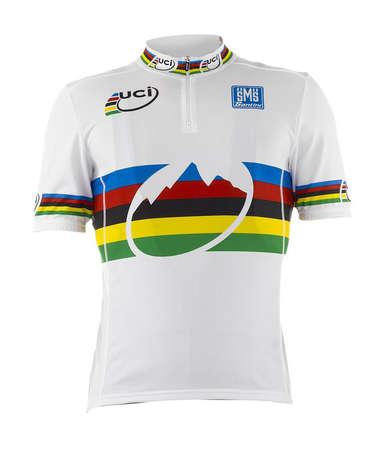 picture UCI MTB Fietsshirt Korte Mouwen Wit 2015