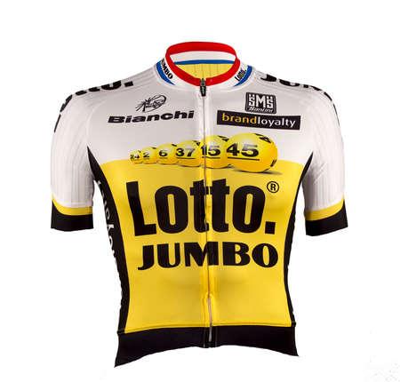 picture Team LottoNL-Jumbo Aero Fietsshirt korte mouwen 2016