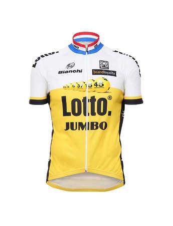 picture Team LottoNL-Jumbo Replica Fietsshirt korte mouwen 2016