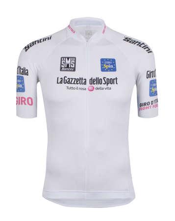 picture Giro d`Italia Witte Leiderstrui Jongerenklassement 2016