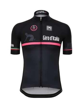 picture Giro d`Italia Fietsshirt Zwart/Roze 2016