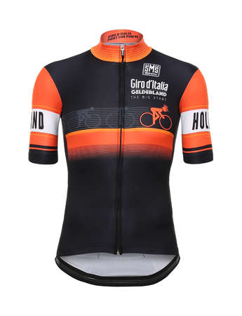 picture Giro d`Italia Fietsshirt Stage 1: The big start
